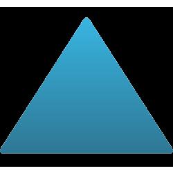 Triangle Car Magnet