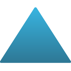 Triangle Static Cling
