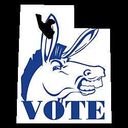 Utah Vote Democrat Decal