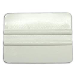 White Plastic Vinyl Squeegee