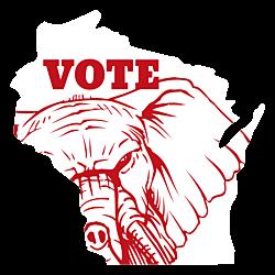 Wisconsin Vote Republican Decal