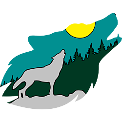 Spirit of the Wolf - Wolf Howl Decal