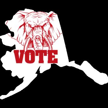 Alaska Vote Republican Decal
