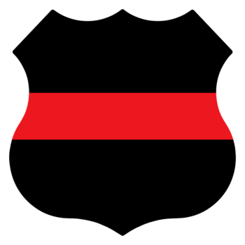 Custom Fire Badge Car Magnet
