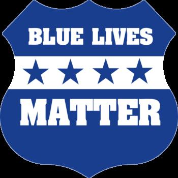 Blue Lives Matter Car Magnet
