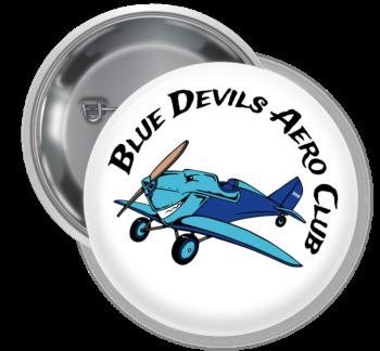 Blue Devils Aero Club Button