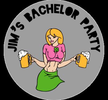 Bachelor Party Car Magnet