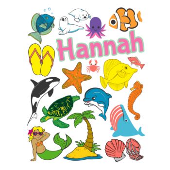 Sea Life Sticker Sheets