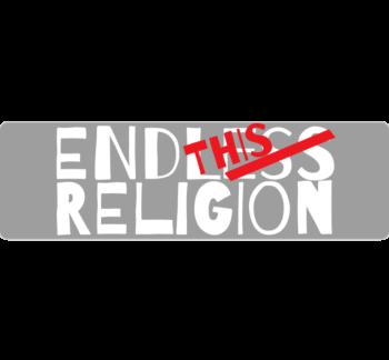 End This Religion Bumper Sticker