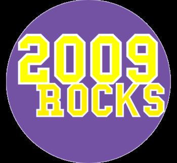 2009 Rocks Car Magnet