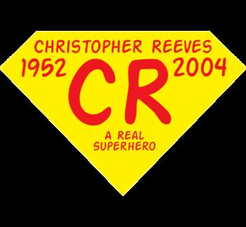 A Real Superhero Static Cling