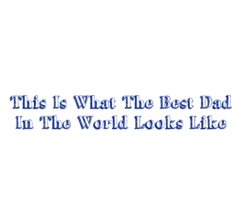 Best Dad in The World Magnet
