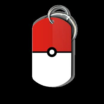 Pokemon Day Trainer in Training Pokeball Key Chain - front