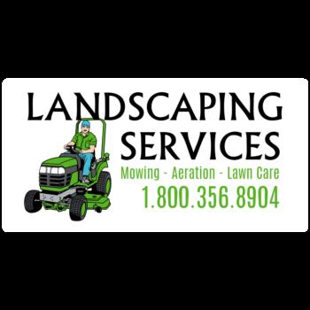 Landscaping Custom Rectangle Car Magnet