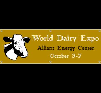 Dairy Expo Vinyl Banner