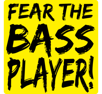 Fear the Bass Car Magnet