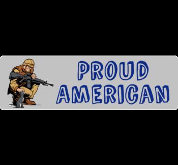 Proud American Car Magnet