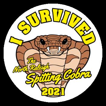 Raleigh Cobra Circle Stickers