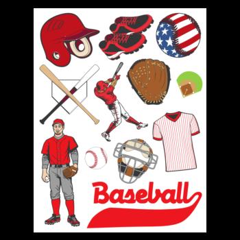 Baseball Sticker Sheets