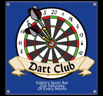 Dart Club Vinyl Banner
