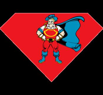 Super Hero Temporary Tattoo