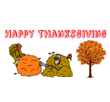 Happy Thanksgiving Decal
