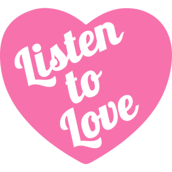 Listen to Love Heart Temporary Tattoo