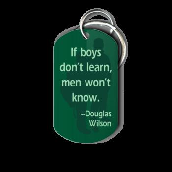 International Men's Day Key Chain - Front