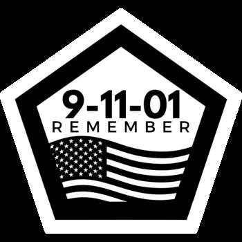 Sept 11 Pentagon Stickers