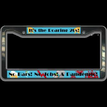 Roaring Twenties License Plate Frame