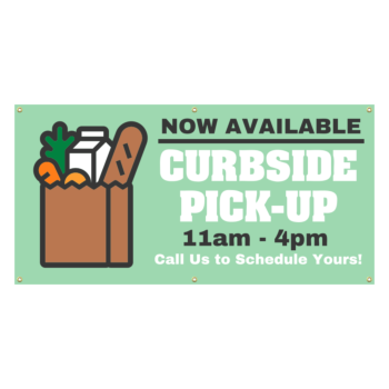 Grocery Pick-Up Banner