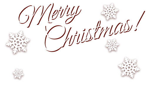 Merry Christmas! Order before these dates to receive before Christmas