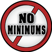 No Minimums