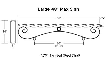 Reverse Scroll Brackets Diagram Large