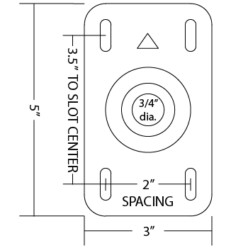wall mount plate diagram